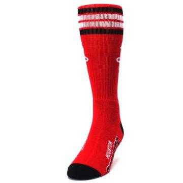 Image of Houston Rockets Men's Athletic Crew Socks (side-2-front-06)