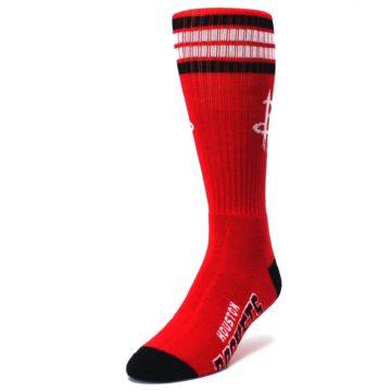 Image of Houston Rockets Men's Athletic Crew Socks (side-2-front-07)