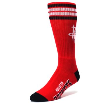 Image of Houston Rockets Men's Athletic Crew Socks (side-2-front-08)