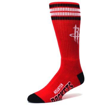 Image of Houston Rockets Men's Athletic Crew Socks (side-2-09)