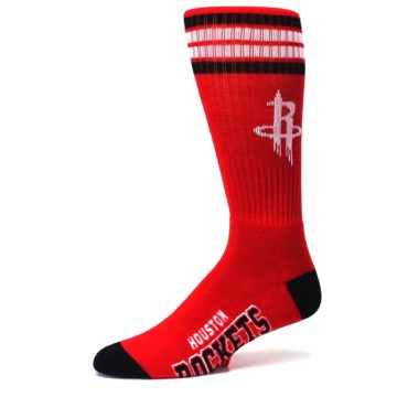 Image of Houston Rockets Men's Athletic Crew Socks (side-2-10)