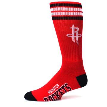 Image of Houston Rockets Men's Athletic Crew Socks (side-2-11)
