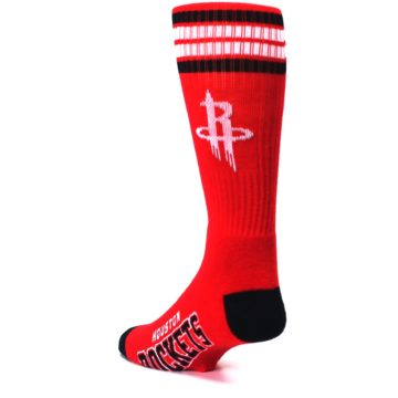 Image of Houston Rockets Men's Athletic Crew Socks (side-2-back-15)