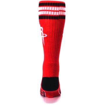 Image of Houston Rockets Men's Athletic Crew Socks (back-18)