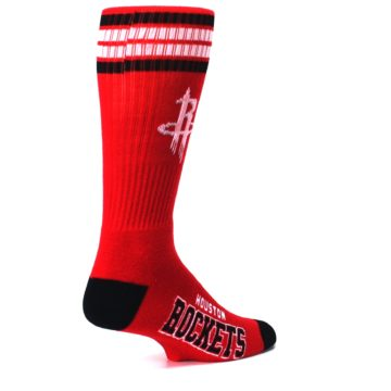 Image of Houston Rockets Men's Athletic Crew Socks (side-1-back-22)