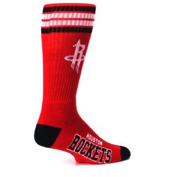 Image of Houston Rockets Men's Athletic Crew Socks (side-1-23)