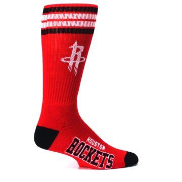 Image of Houston Rockets Men's Athletic Crew Socks (side-1-24)