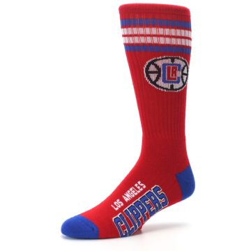 Image of Los Angeles Clippers Men's Athletic Crew Socks (side-2-09)