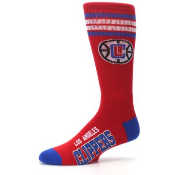 Image of Los Angeles Clippers Men's Athletic Crew Socks (side-2-10)