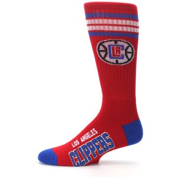 Image of Los Angeles Clippers Men's Athletic Crew Socks (side-2-11)