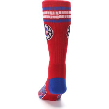 Image of Los Angeles Clippers Men's Athletic Crew Socks (back-17)