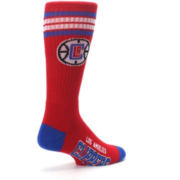 Image of Los Angeles Clippers Men's Athletic Crew Socks (side-1-back-22)