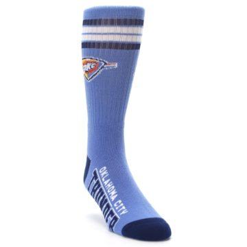 Image of Oklahoma City Thunder Men's Athletic Crew Socks (side-1-front-02)