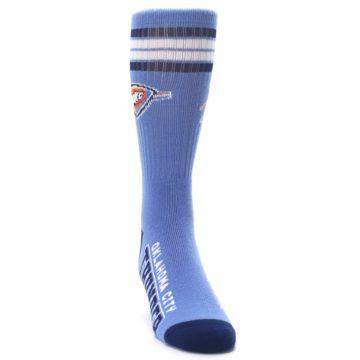 Image of Oklahoma City Thunder Men's Athletic Crew Socks (side-1-front-03)