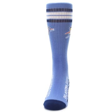 Image of Oklahoma City Thunder Men's Athletic Crew Socks (front-05)