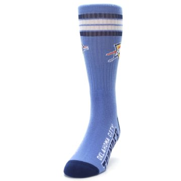 Image of Oklahoma City Thunder Men's Athletic Crew Socks (side-2-front-06)