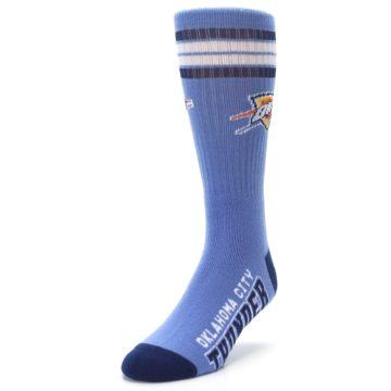 Image of Oklahoma City Thunder Men's Athletic Crew Socks (side-2-front-07)