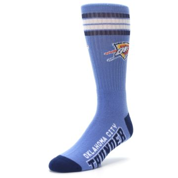 Image of Oklahoma City Thunder Men's Athletic Crew Socks (side-2-front-08)