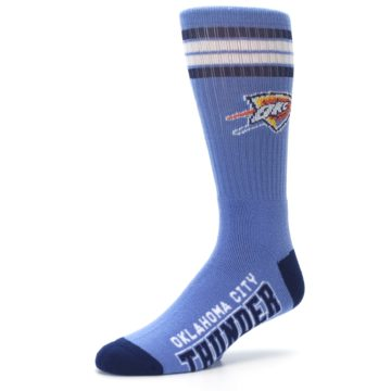 Image of Oklahoma City Thunder Men's Athletic Crew Socks (side-2-09)