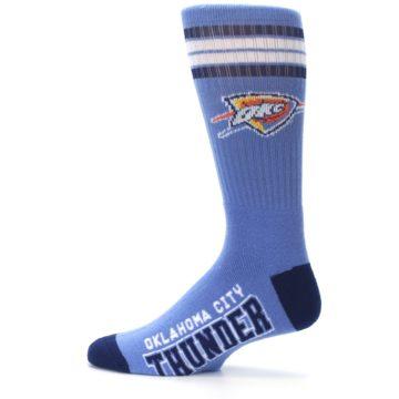 Image of Oklahoma City Thunder Men's Athletic Crew Socks (side-2-12)