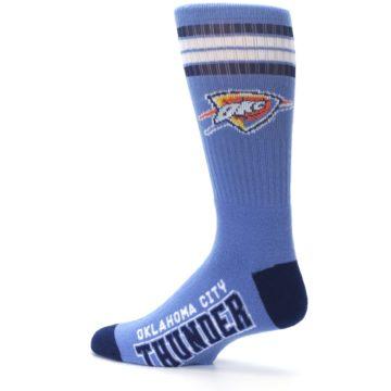 Image of Oklahoma City Thunder Men's Athletic Crew Socks (side-2-13)