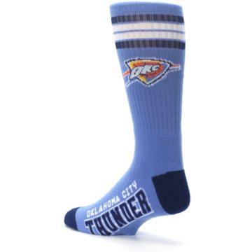 Image of Oklahoma City Thunder Men's Athletic Crew Socks (side-2-back-14)