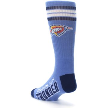 Image of Oklahoma City Thunder Men's Athletic Crew Socks (side-2-back-15)