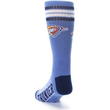 Image of Oklahoma City Thunder Men's Athletic Crew Socks (side-2-back-16)