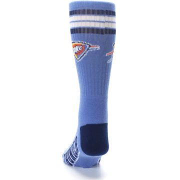 Image of Oklahoma City Thunder Men's Athletic Crew Socks (back-17)