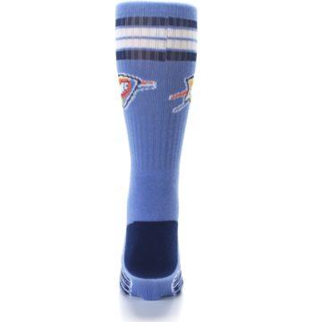 Image of Oklahoma City Thunder Men's Athletic Crew Socks (back-18)