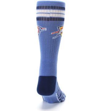 Image of Oklahoma City Thunder Men's Athletic Crew Socks (back-19)