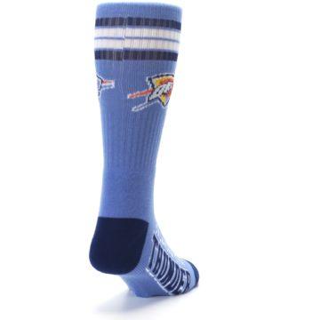Image of Oklahoma City Thunder Men's Athletic Crew Socks (side-1-back-20)