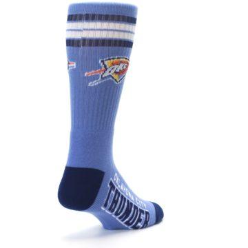 Image of Oklahoma City Thunder Men's Athletic Crew Socks (side-1-back-21)