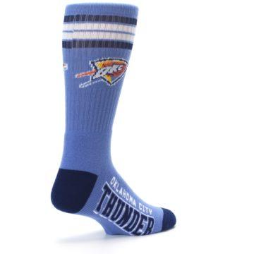 Image of Oklahoma City Thunder Men's Athletic Crew Socks (side-1-back-22)