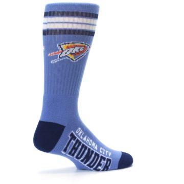 Image of Oklahoma City Thunder Men's Athletic Crew Socks (side-1-23)