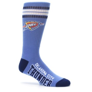 Image of Oklahoma City Thunder Men's Athletic Crew Socks (side-1-25)