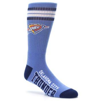 Image of Oklahoma City Thunder Men's Athletic Crew Socks (side-1-26)