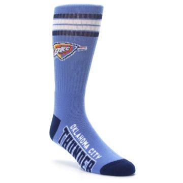 Image of Oklahoma City Thunder Men's Athletic Crew Socks (side-1-27)