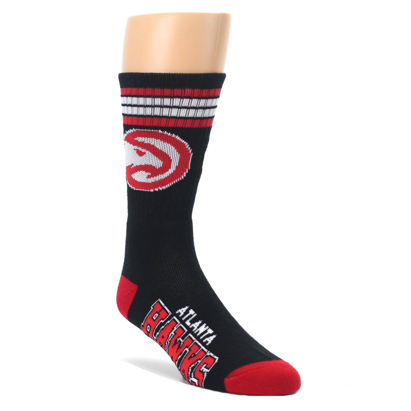 b1fa5a7ed68a5 Atlanta Hawks Men's Athletic Crew Socks - FBF Originals