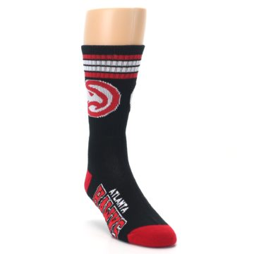 Image of Atlanta Hawks Men's Athletic Crew Socks (side-1-front-02)