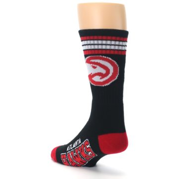 Image of Atlanta Hawks Men's Athletic Crew Socks (side-2-back-15)