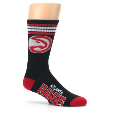 Image of Atlanta Hawks Men's Athletic Crew Socks (side-1-25)