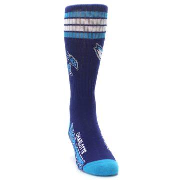 Image of Charlotte Hornets Men's Athletic Crew Socks (side-1-front-03)