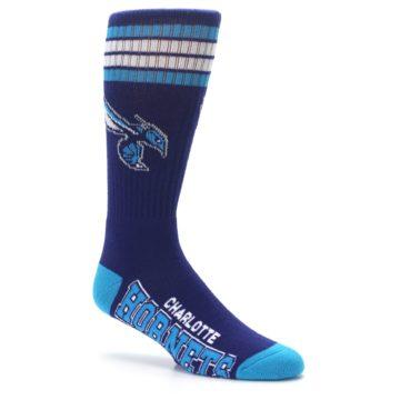 Image of Charlotte Hornets Men's Athletic Crew Socks (side-1-26)