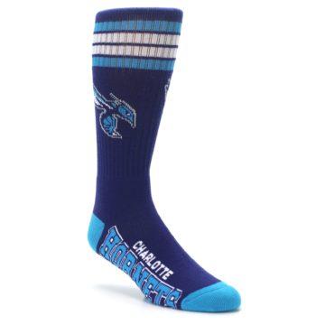 Image of Charlotte Hornets Men's Athletic Crew Socks (side-1-27)