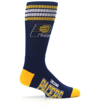 Image of Indiana Pacers Men's Athletic Crew Socks (side-1-24)