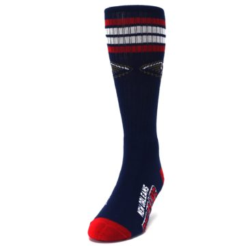 Image of New Orleans Pelicans Men's Athletic Crew Socks (side-2-front-06)