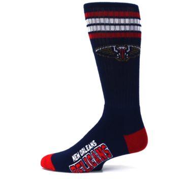 Image of New Orleans Pelicans Men's Athletic Crew Socks (side-2-12)