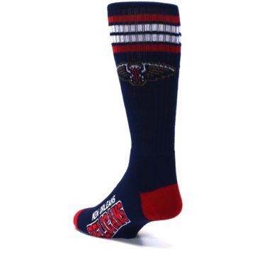 Image of New Orleans Pelicans Men's Athletic Crew Socks (side-2-back-15)