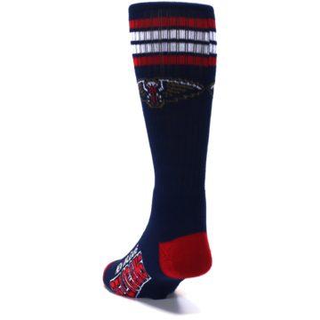 Image of New Orleans Pelicans Men's Athletic Crew Socks (side-2-back-16)